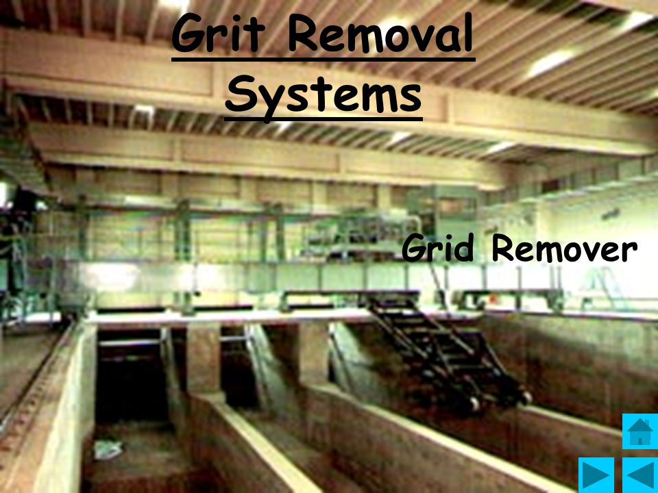 Grit Removal Systems Grid Remover
