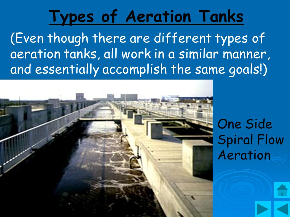 Types of Aeration Tanks