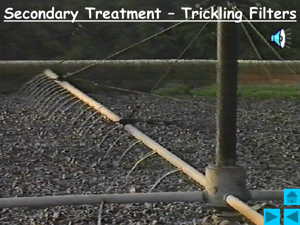 Secondary Treatment – Trickling Filters