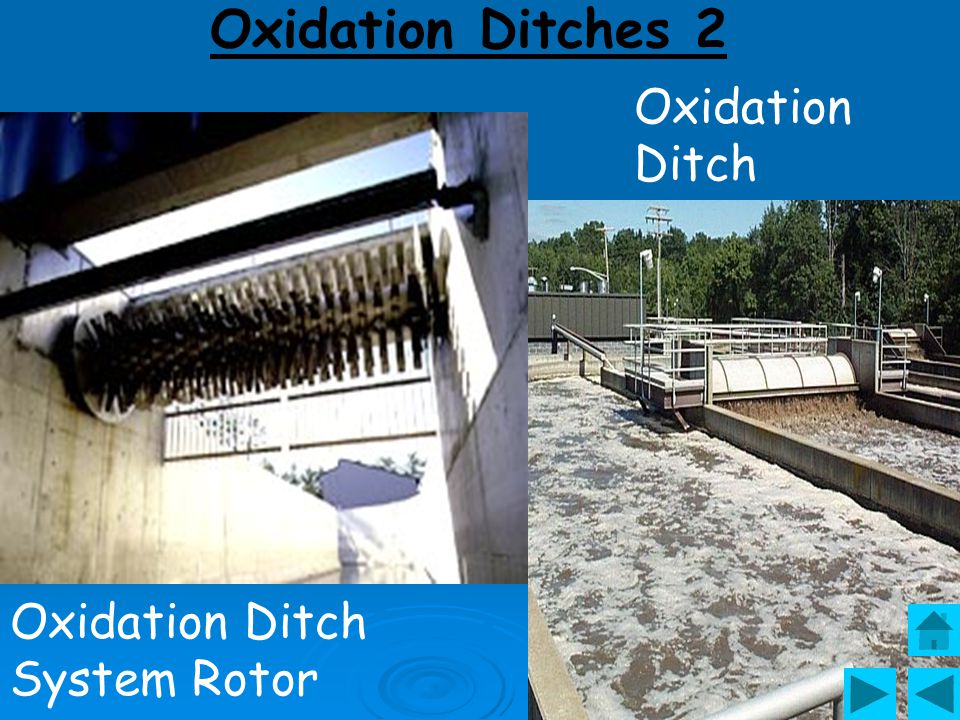 Oxidation Ditches 2 Oxidation Ditch Oxidation Ditch System Rotor