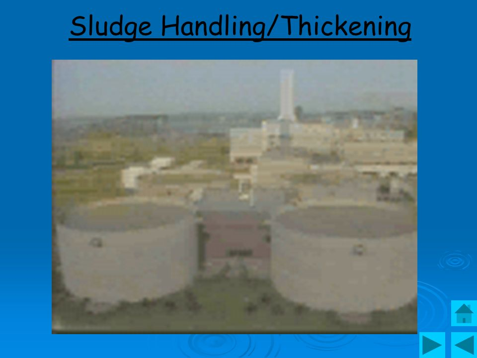 Sludge Handling/Thickening