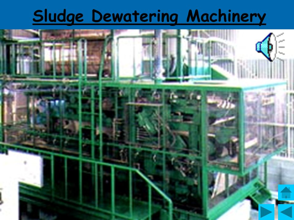Sludge Dewatering Machinery