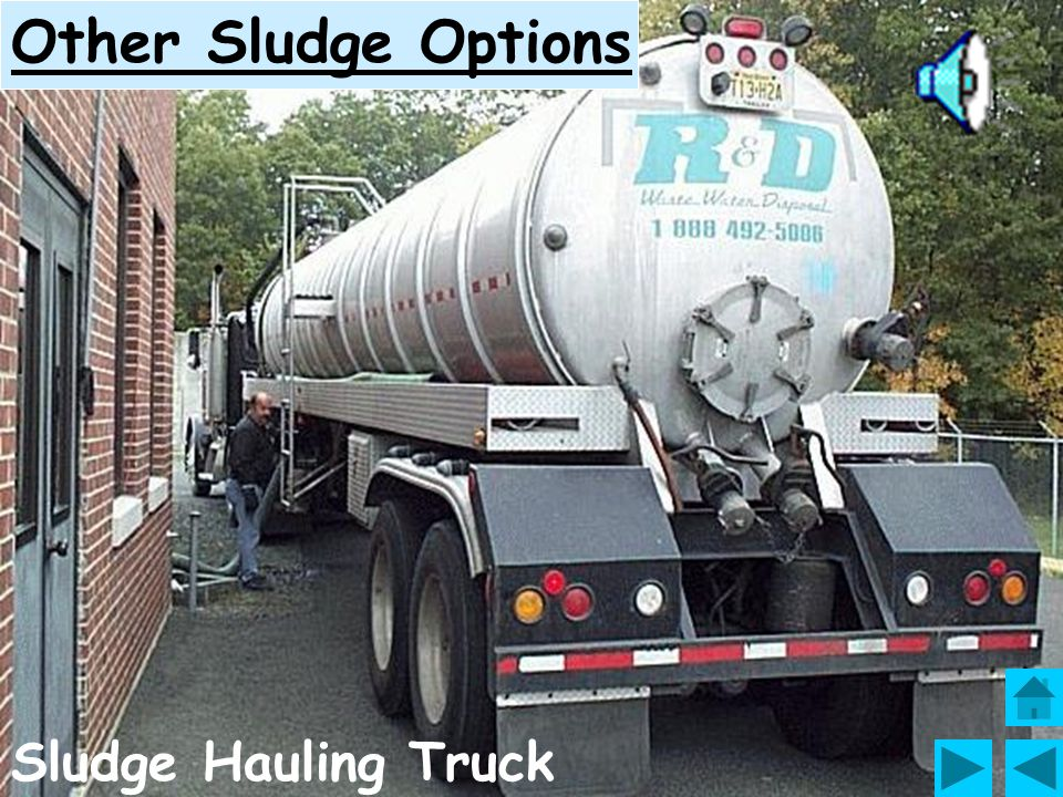 Other Sludge Options Sludge Hauling Truck