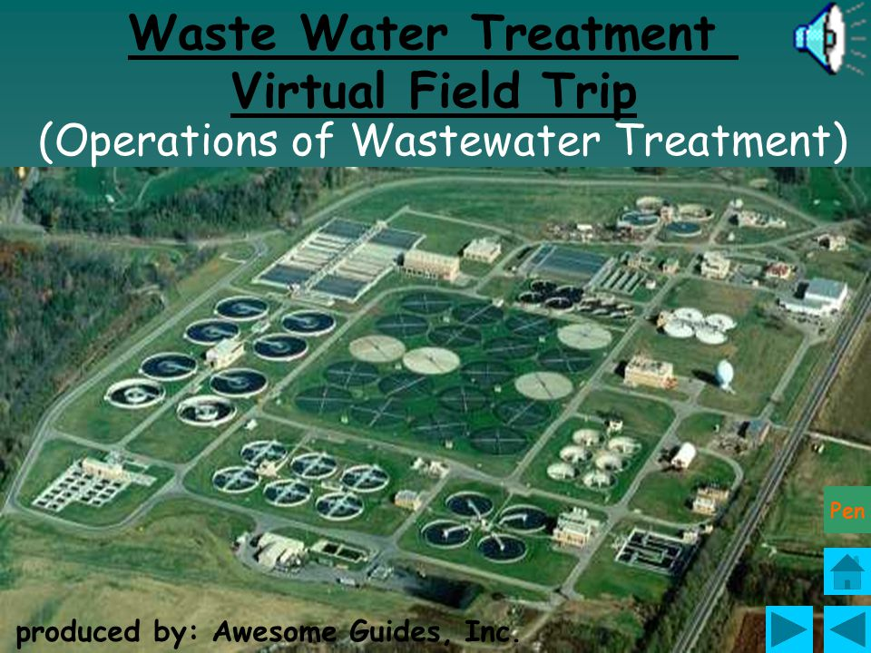 Waste Water Treatment Virtual Field Trip