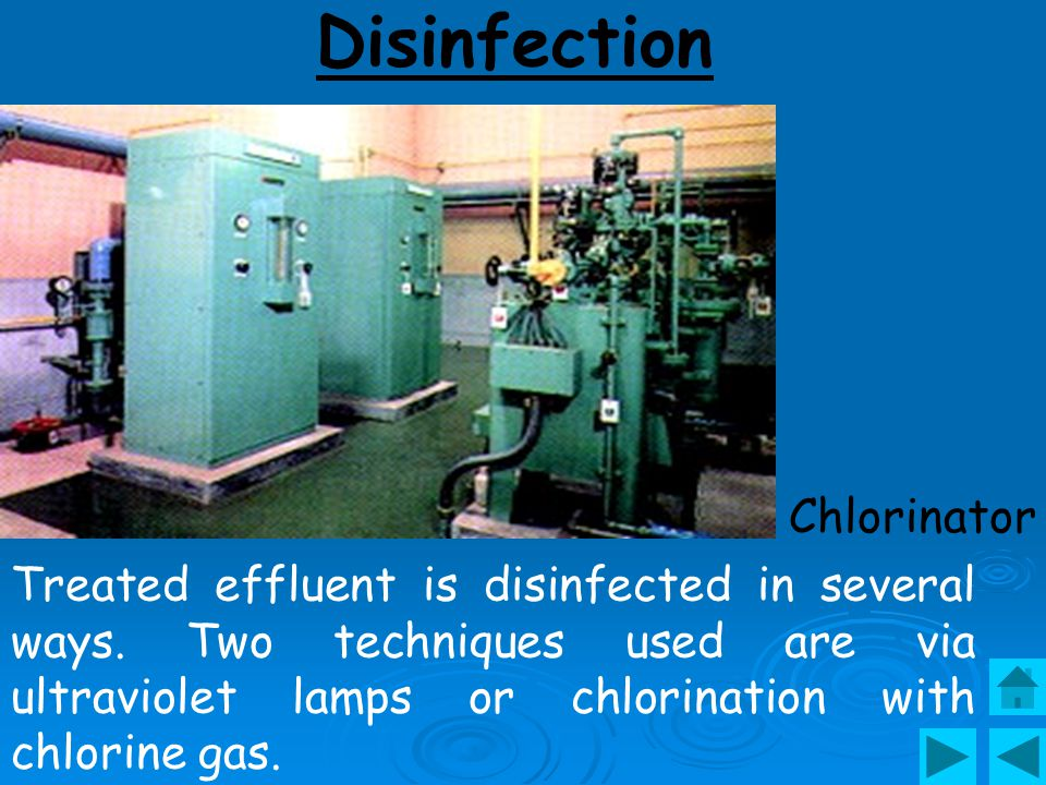 Disinfection Chlorinator