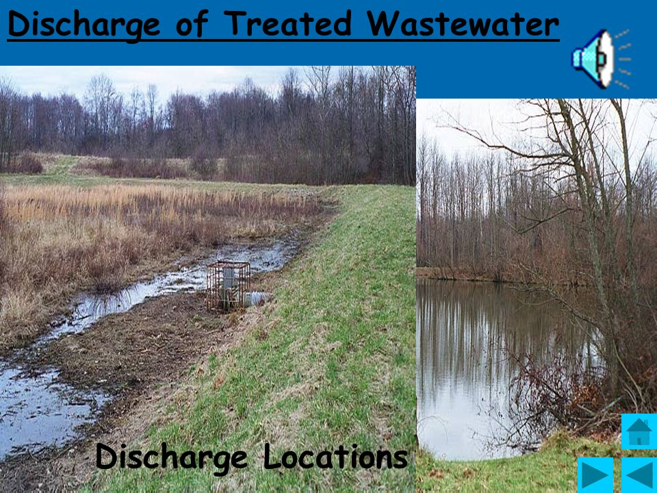 Discharge of Treated Wastewater