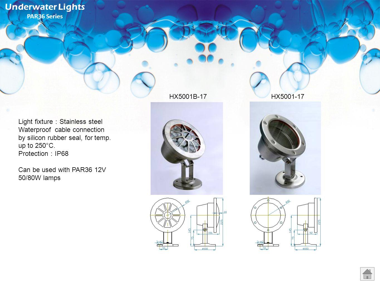 Underwater Lights PAR36 Series