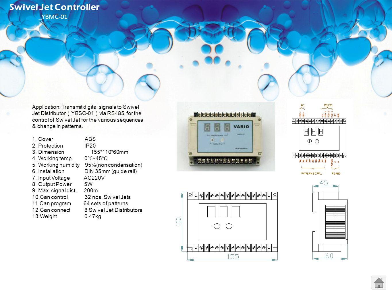 Swivel Jet Controller YBMC-01