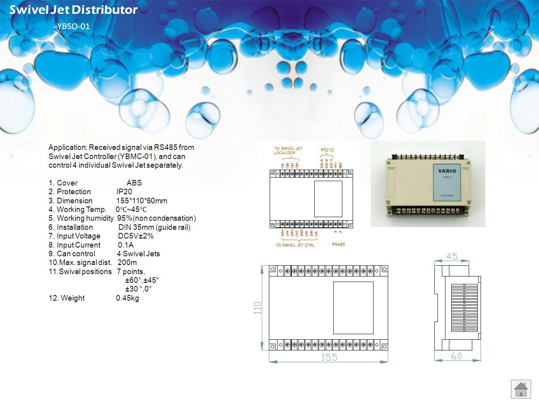 Swivel Jet Distributor YBSO-01