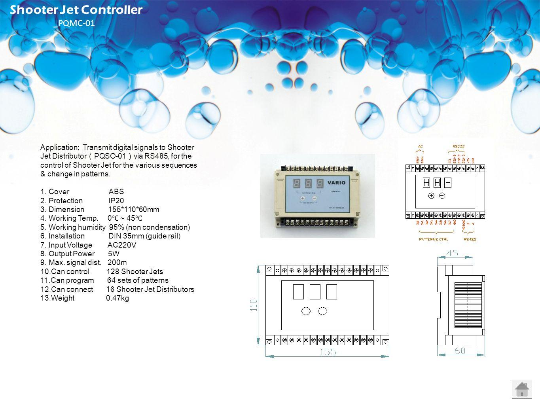 Shooter Jet Controller PQMC-01