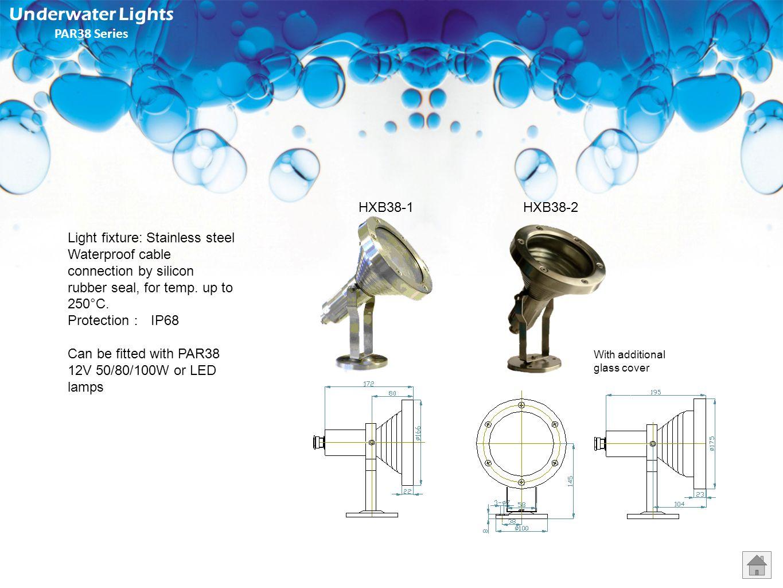 Underwater Lights PAR38 Series