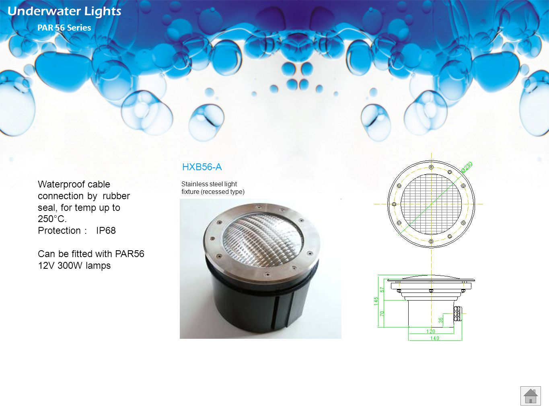Underwater Lights PAR 56 Series HXB56-A