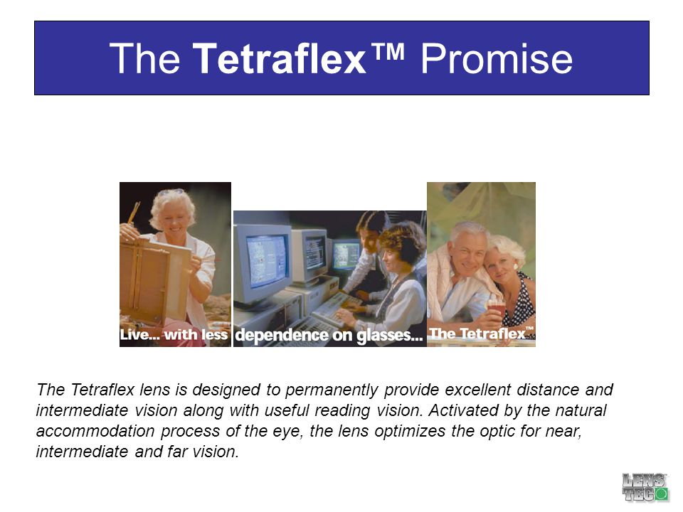 The Tetraflex™ Promise