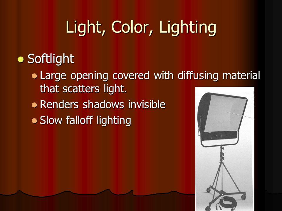 Light, Color, Lighting Softlight