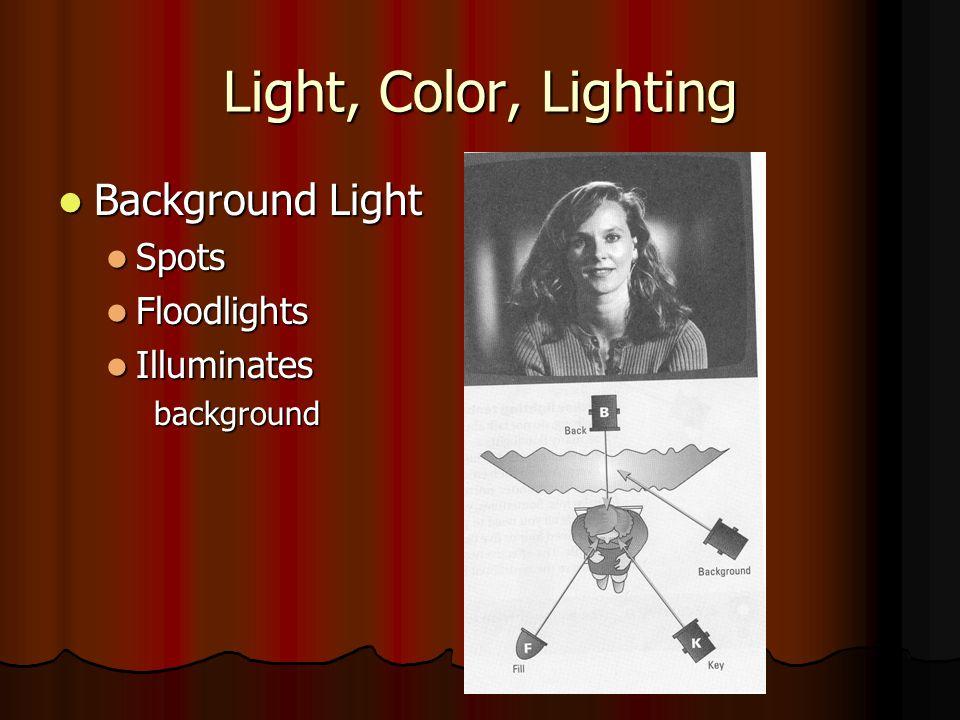 Light, Color, Lighting Background Light Spots Floodlights Illuminates