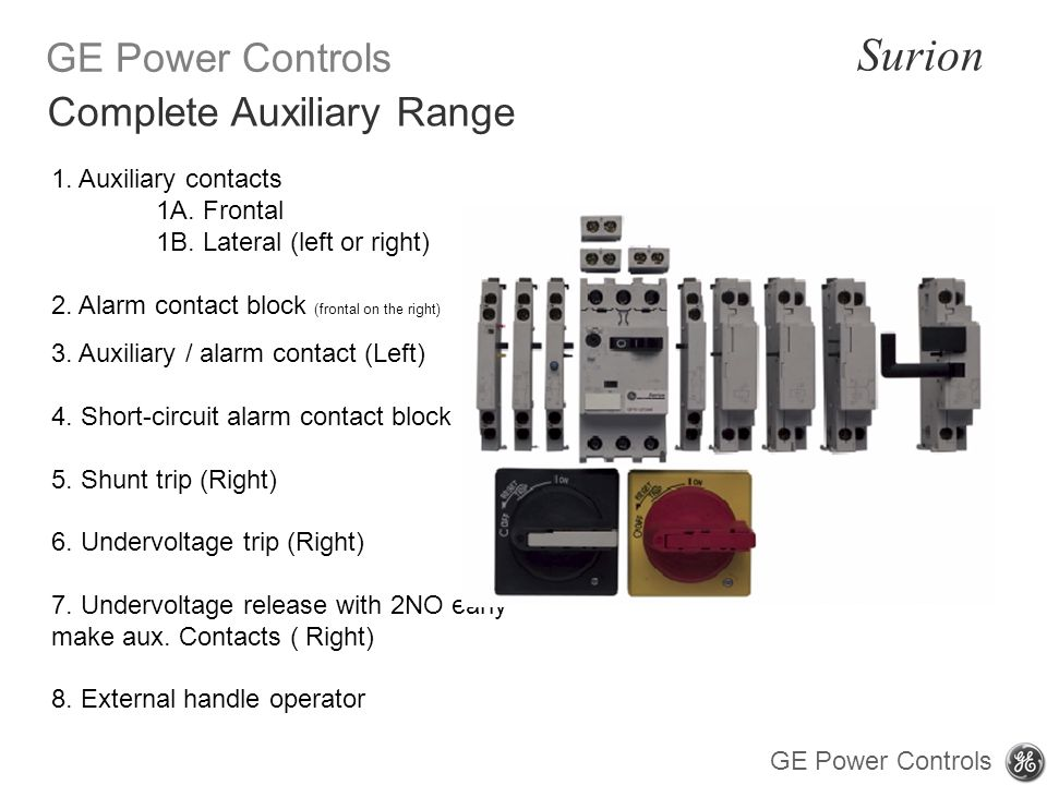 Complete Auxiliary Range