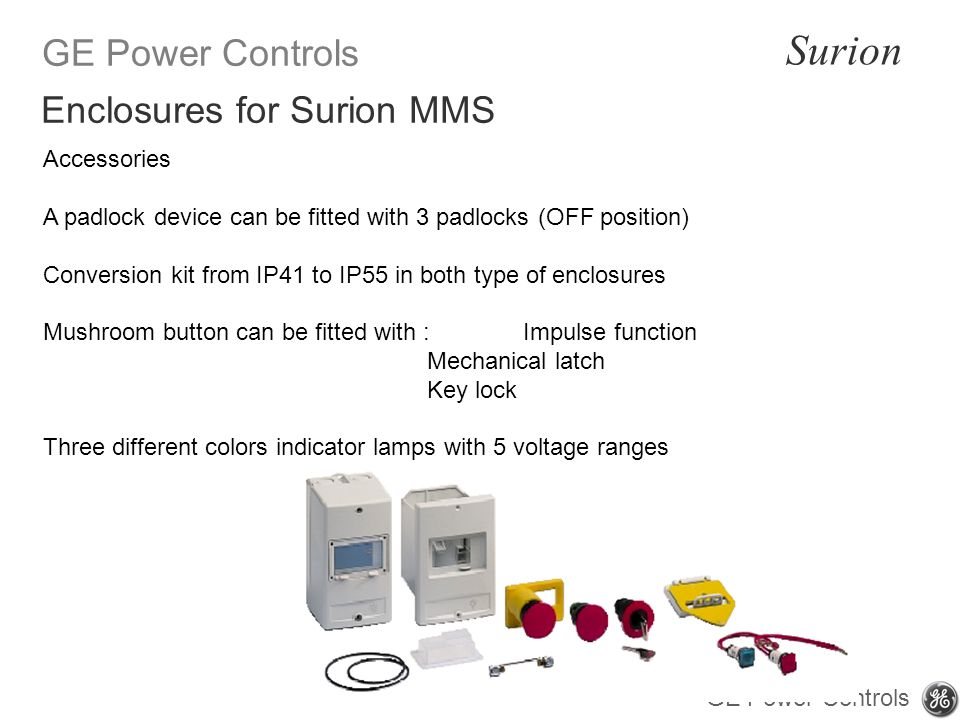 Enclosures for Surion MMS