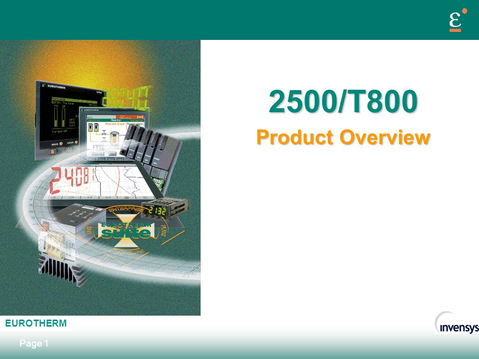 2500/T800 Product Overview