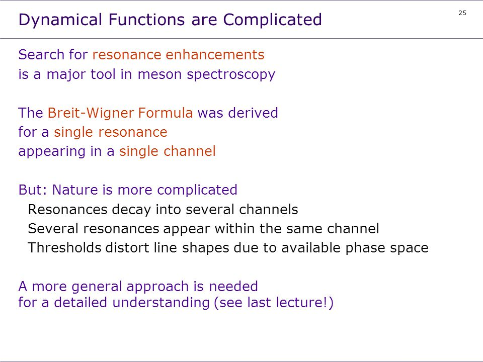 Dynamical Functions are Complicated