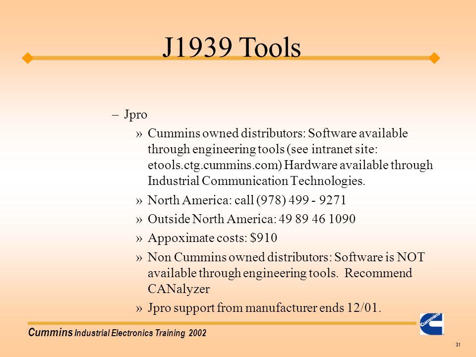 J1939 Tools Jpro.