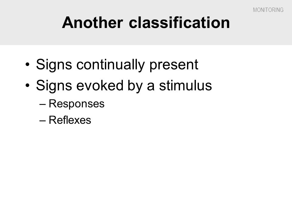 Another classification