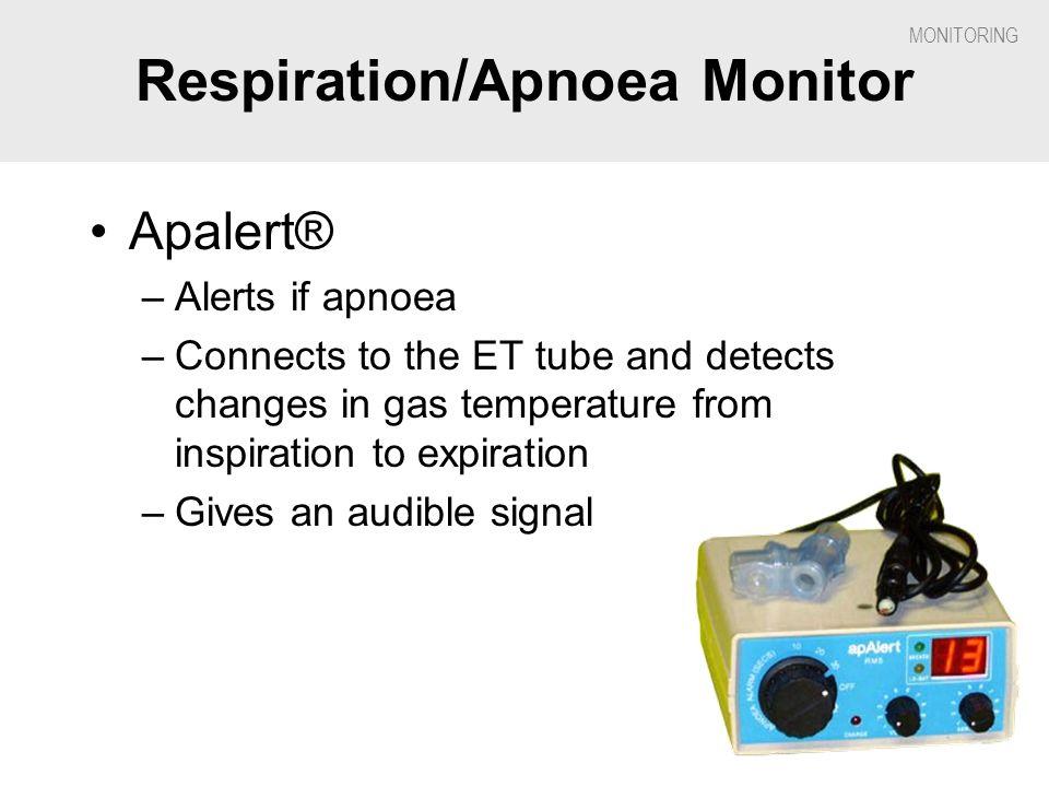 Respiration/Apnoea Monitor