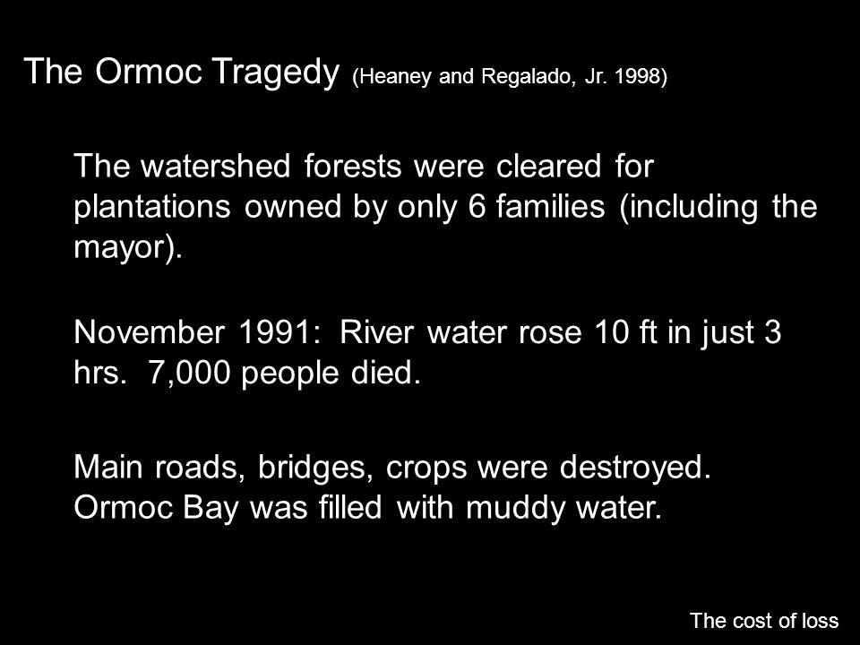 The Ormoc Tragedy (Heaney and Regalado, Jr. 1998)