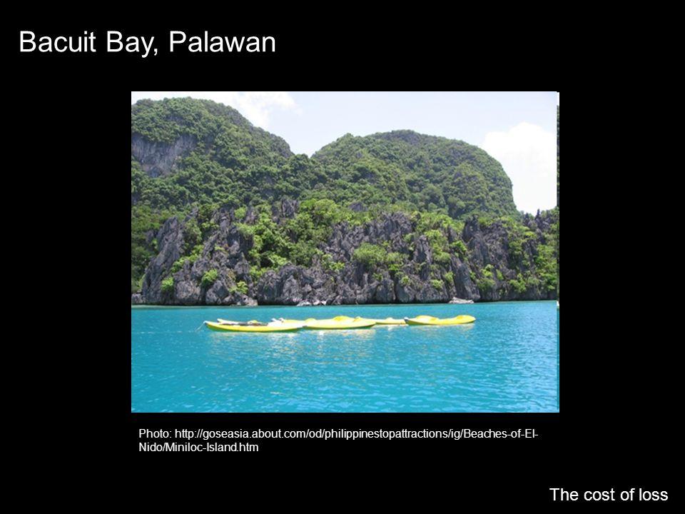 Bacuit Bay, Palawan The cost of loss