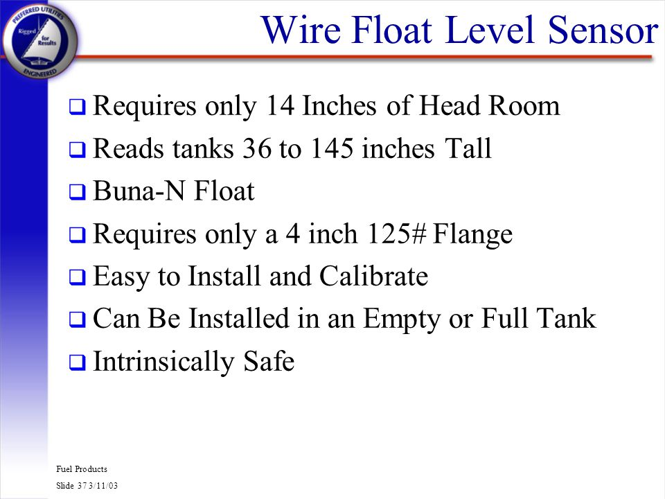 Wire Float Level Sensor