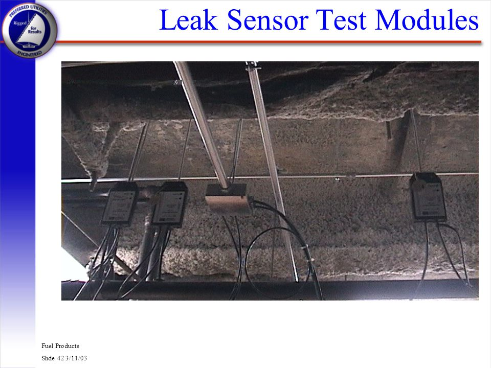 Leak Sensor Test Modules