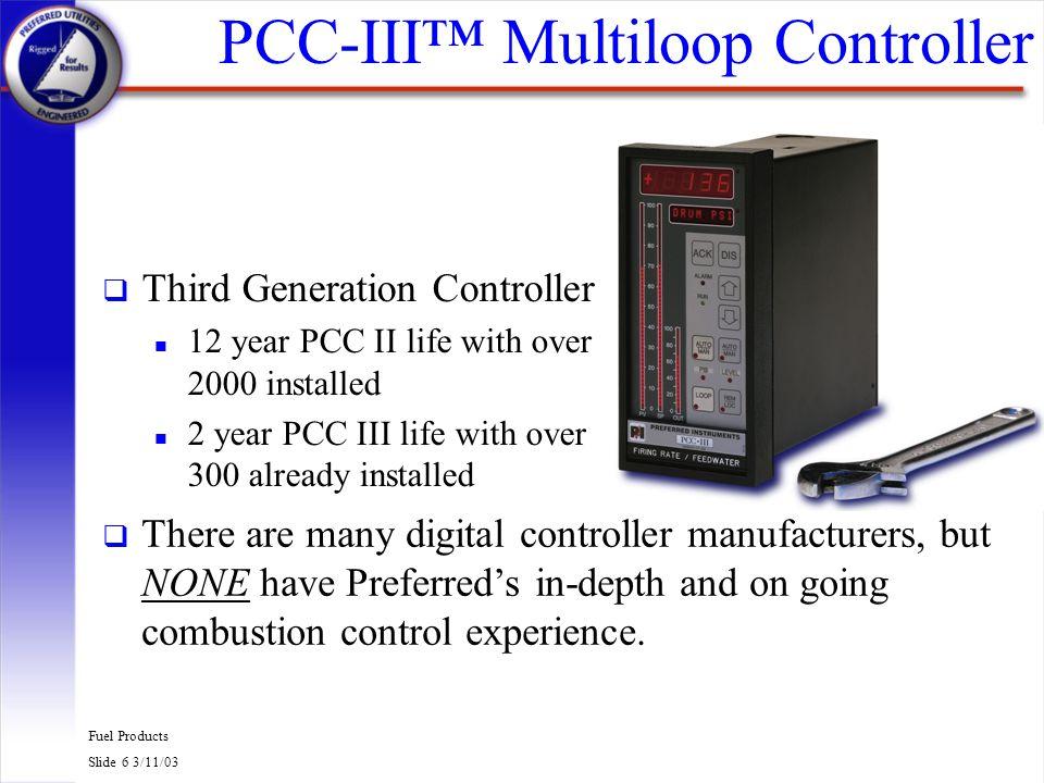 PCC-III™ Multiloop Controller