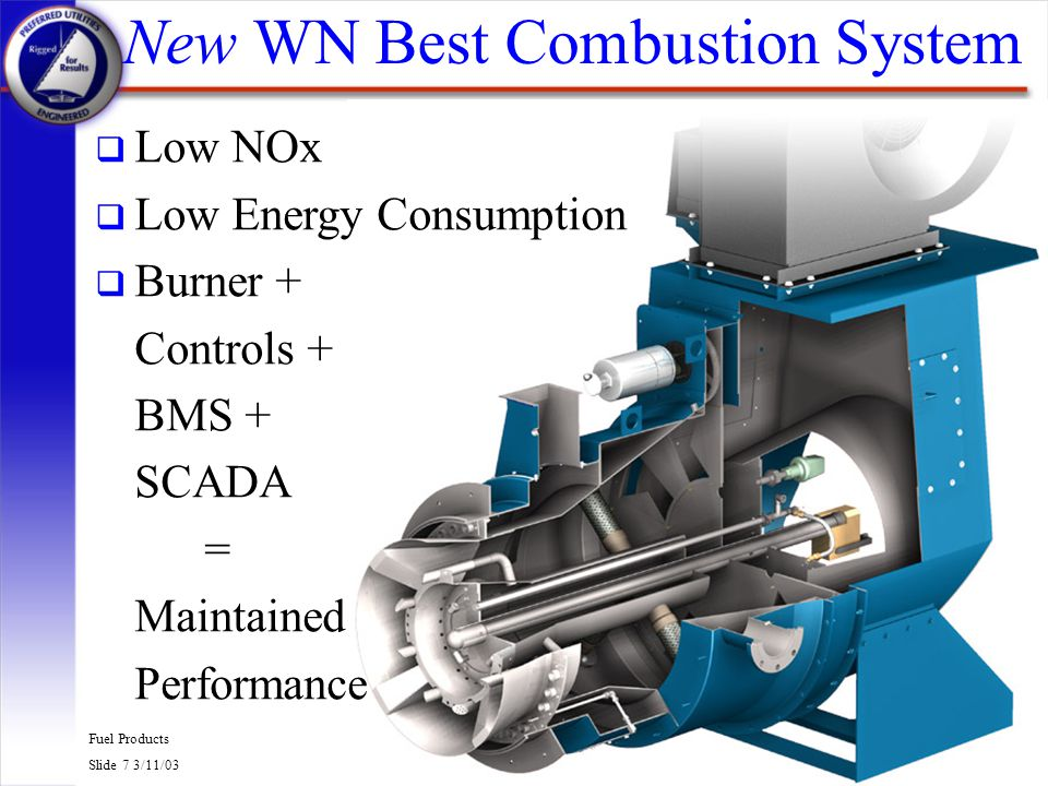 New WN Best Combustion System