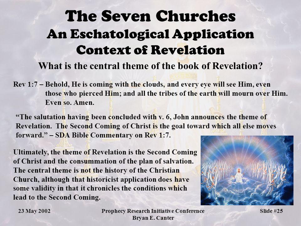 The Seven Churches An Eschatological Application Context of Revelation