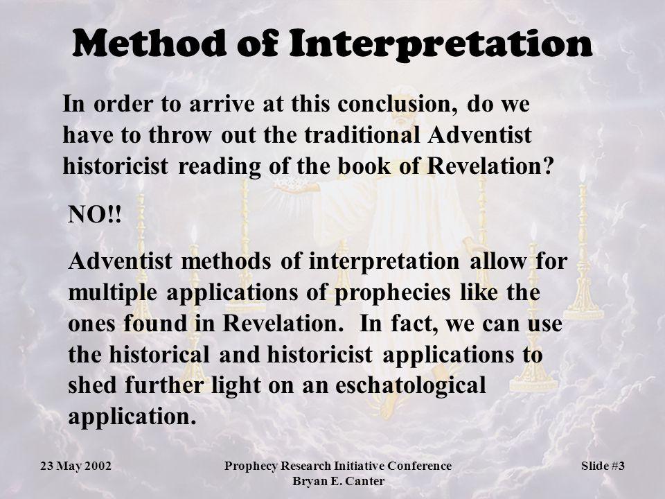 Method of Interpretation