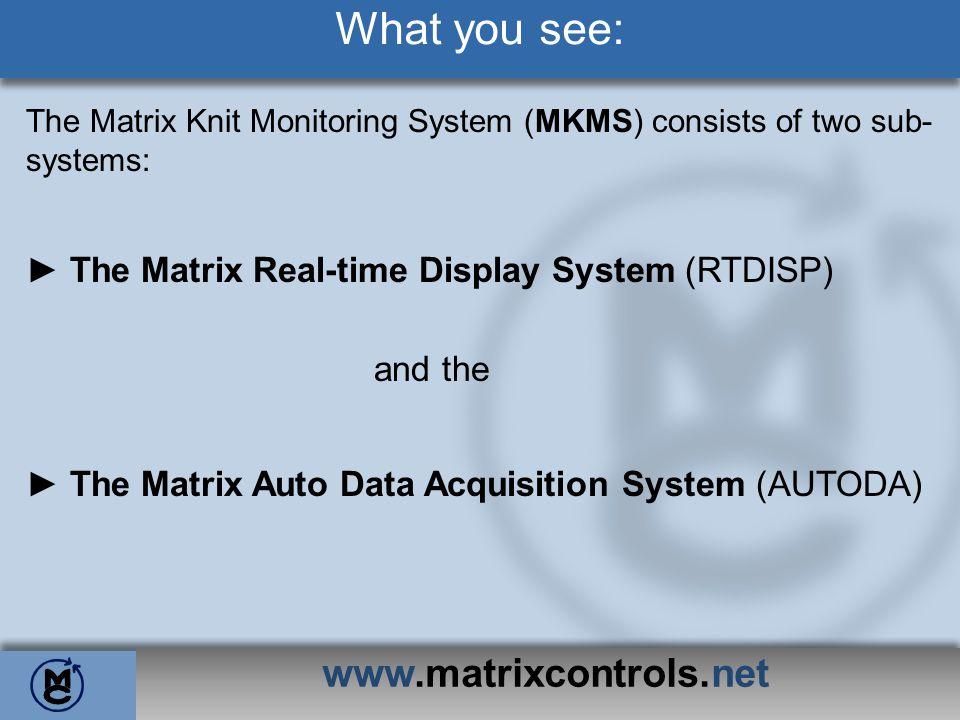 What you see: www.matrixcontrols.net