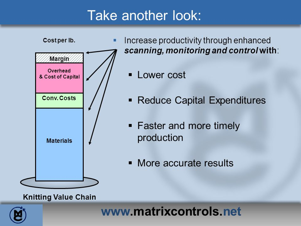 www.matrixcontrols.net Take another look: Lower cost