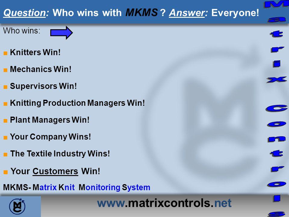 Matrix Controls www.matrixcontrols.net