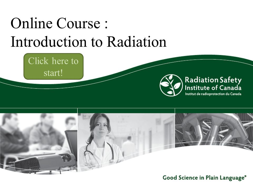 Online Course : Introduction to Radiation
