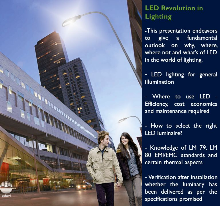 LED Revolution in Lighting