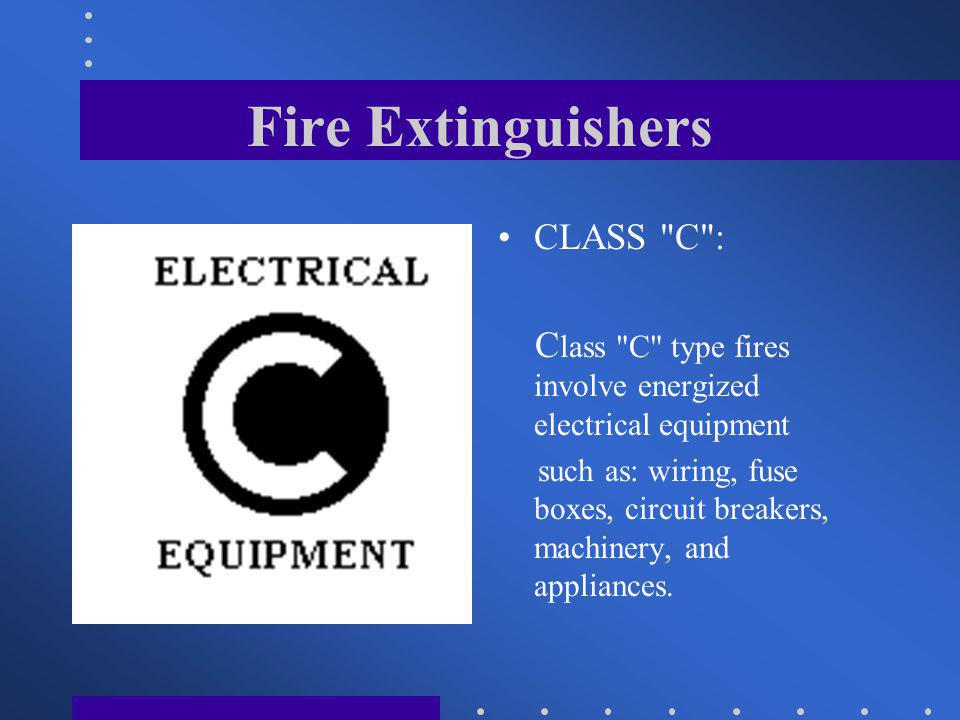 Fire+Extinguishers+CLASS+C+%3A fire extinguishers hand held portables ppt video online download  at nearapp.co