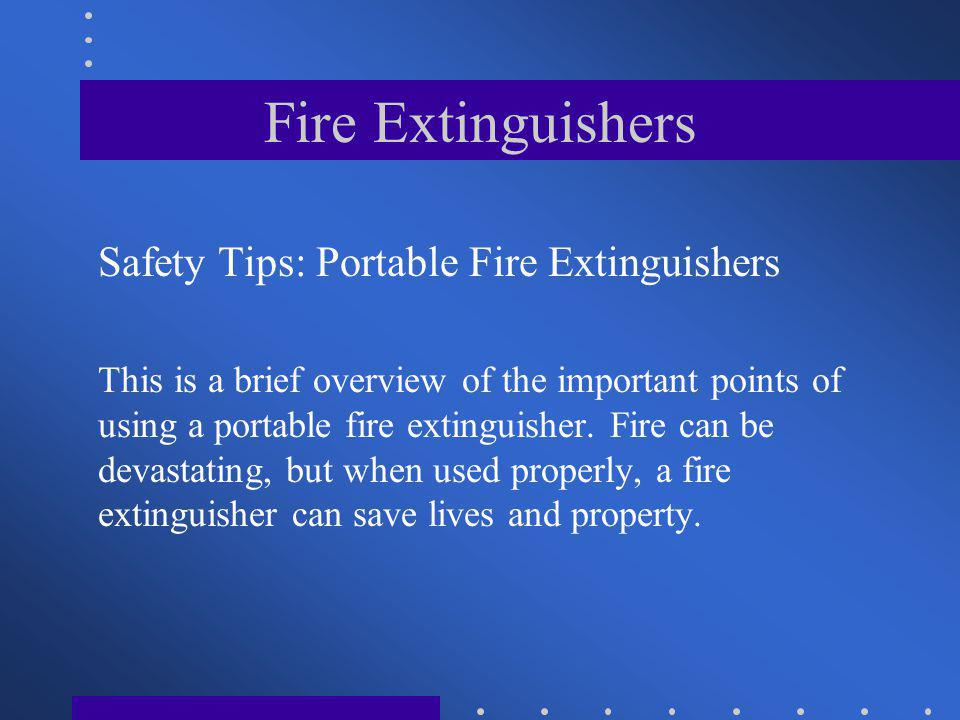 Fire+Extinguishers+Safety+Tips%3A+Portable+Fire+Extinguishers fire extinguishers hand held portables ppt video online download  at nearapp.co
