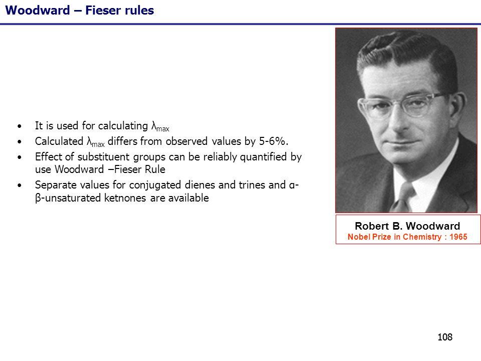 Nobel Prize in Chemistry : 1965