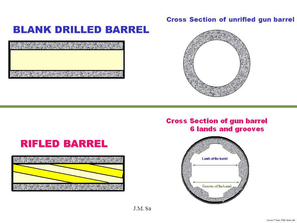 BLANK DRILLED BARREL RIFLED BARREL