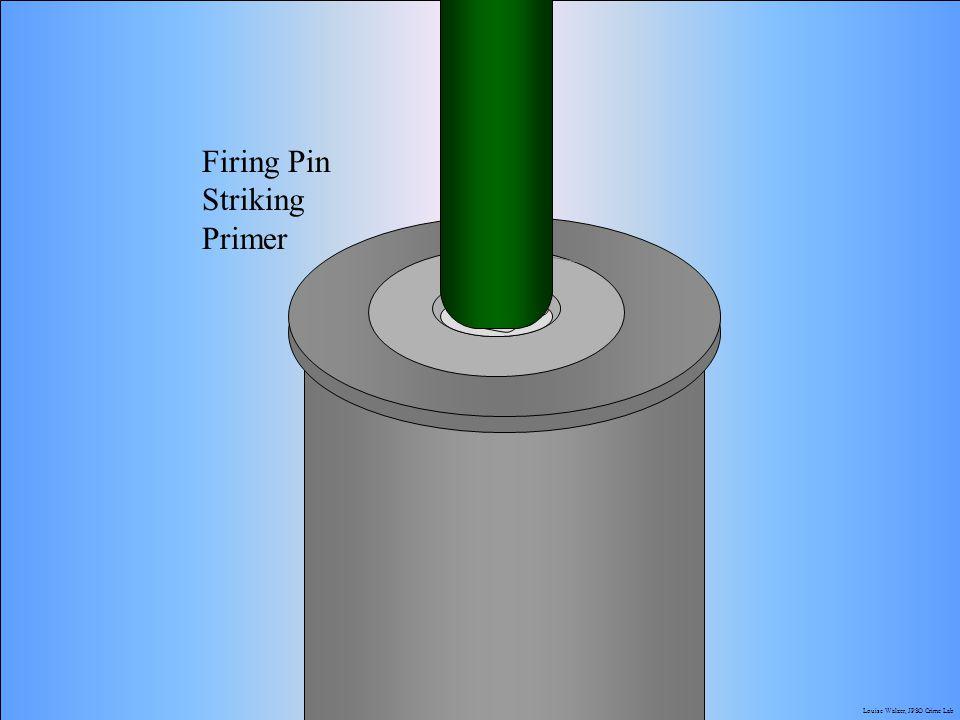 Firing Pin Striking Primer J.M. Saloom Louise Walzer, JPSO Crime Lab