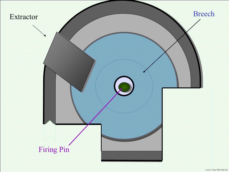 Breech Extractor Firing Pin J.M. Saloom Louise Walzer, JPSO Crime Lab