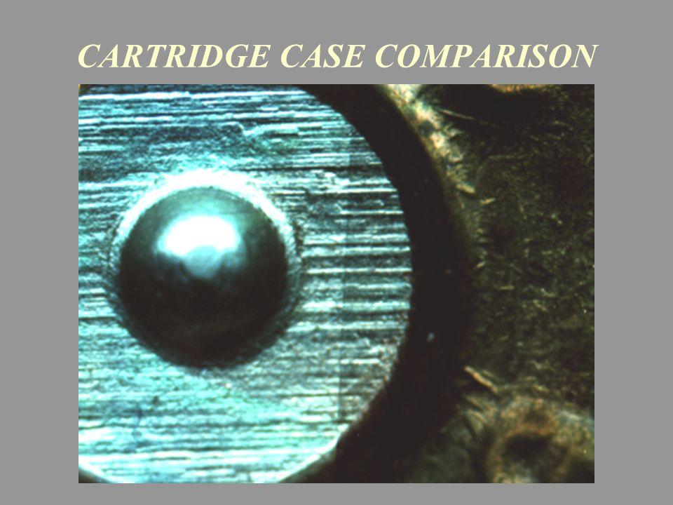CARTRIDGE CASE COMPARISON