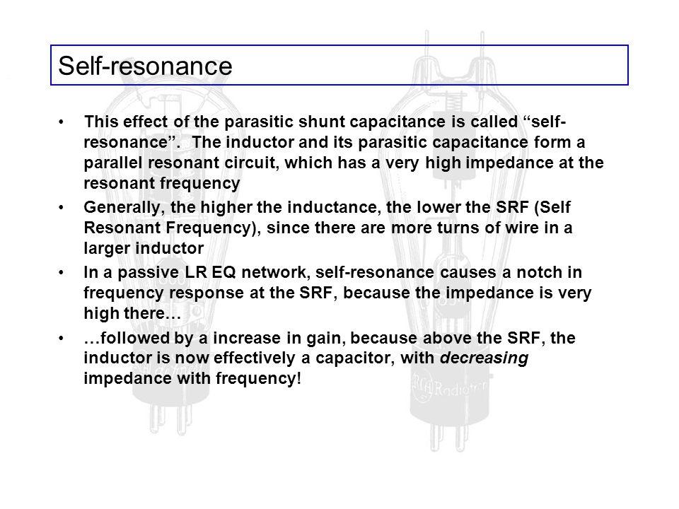 Self-resonance