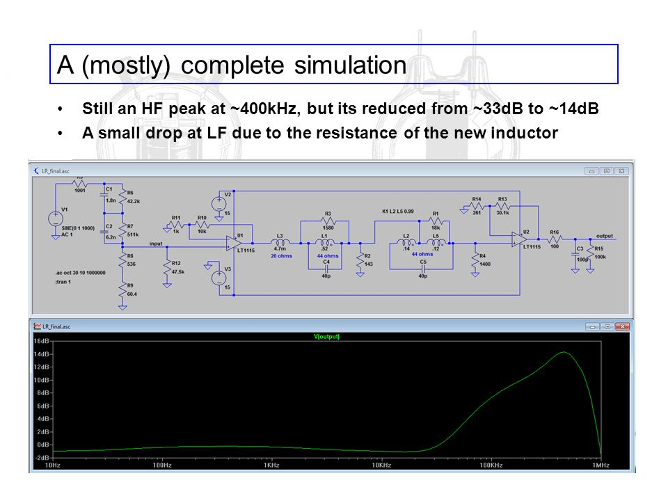A (mostly) complete simulation