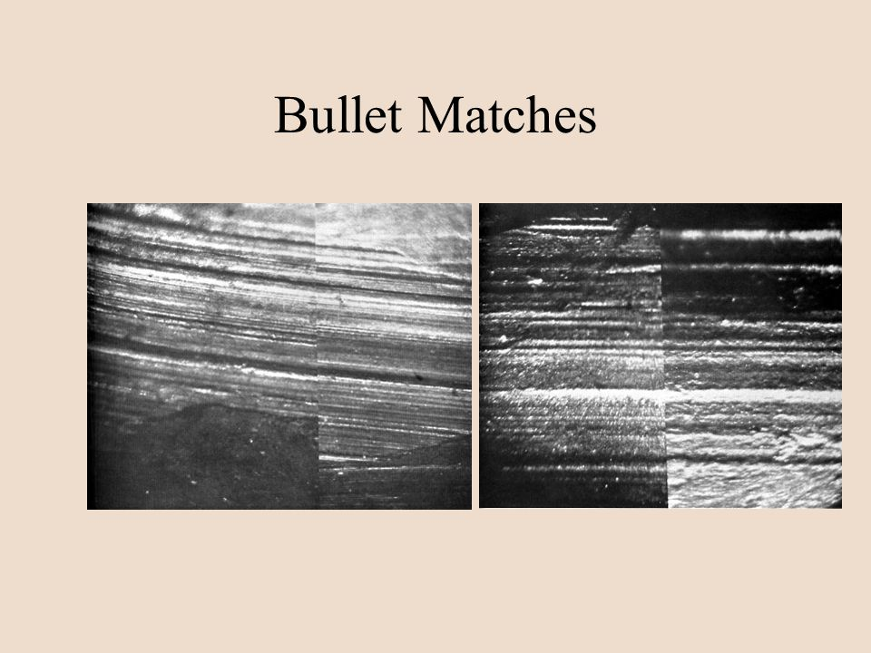Bullet Matches