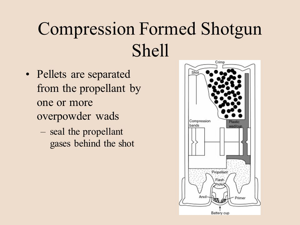 Compression Formed Shotgun Shell